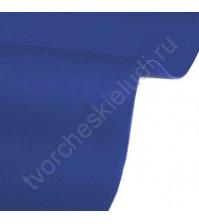 Кожзам переплетный на полиуретановой основе плотность 230 гр/м2, 50х35 см, цвет 4890-индиго