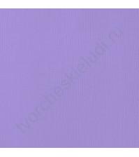 Кардсток текстурированный Лаванда (Lavender), 30.5х30.5 см, 216 гр/м2