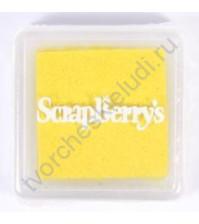 Пигментные чернила 2.5x2.5 см, цвет Желтый