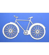 Чипборд Велосипед, 40х74 мм