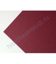 Кардсток текстурированный 30.5х30.5 см, цвет тёмно-красный, плотность 250 гр/м2