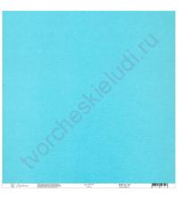 Кардсток текстурированный 30.5х30.5 см, цвет Заводь, плотность 235 гр/м2