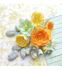 Набор тканевых цветов Spring holidays