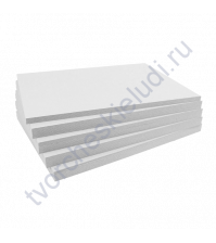 Картон немелованный двусторонний Пивной, 20х20 см, толщ 1.55 мм
