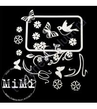 Набор чипборда Проталина, коллекция Весна, размер 10х15см