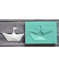 Форма силиконовая (молд) для полимерной глины, Бумажный кораблик