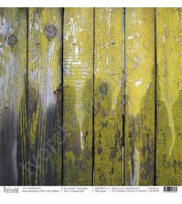 Бумага для скрапбукинга односторонняя коллекция Текстура, 30.5х30.5 см, 190 гр/м, лист Старый дуб