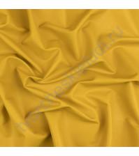 Матовая эко-кожа на замшевой основе, плотность 400 гр/м2, 35х50 см, цвет горчичный