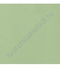 Кардсток текстурированный Мята (Mint ), 30.5х30.5 см, 216 гр/м2
