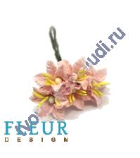 Мини-лилии Светло-розовые, размер цветка 2.5 см, 5 шт