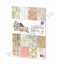 Набор бумаги для скрапбукинга Debutante, формат А4, 30 листов