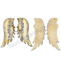 Набор ножей для вырубки Angel wings (Ангельские крылья), 2 элемента