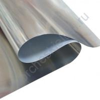 Термотрансферная пленка-фольга Foil, цвет зеркальное серебро, 25х25 см (+/- 1 см)
