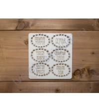 Набор картонного чипборда Мечты о детстве, в наборе 6 элементов, толщина 1,15 мм