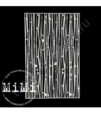 Чипборд Набор Бамбук, коллекция Фоны, 10х15 см