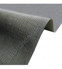 Кожзам переплетный с тиснением под холст на полиуретановой основе плотность 230 гр/м2, 50х35 см, цвет F359-антрацит