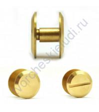 Винт для установки кольцевого механизма, высота 3.5 мм, цвет золото