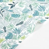 Ткань для рукоделия In the tropics leaf, 100% хлопок, плотность 165 гр/м2, размер 45х55 см