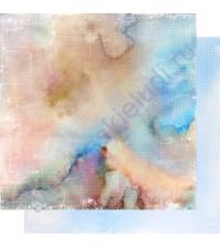 Бумага для скрапбукинга двусторонняя, коллекция Свежий ветер, лист 002