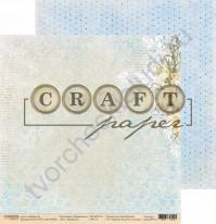 Бумага для скрапбукинга двусторонняя коллекция Первоцветы, 30.5х30.5 см, 190 гр/м, лист Нарциссы
