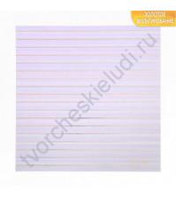 Бумага односторонняя с фольгированием 30.5х30.5 см, 250 гр/м2, лист Каждый день неповторим