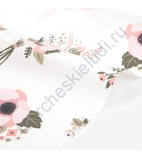 Ткань для рукоделия Little bride bashful, 100% хлопок, плотность 120 гр/м2, размер 45х55 см