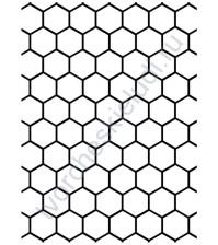 Папка для тиснения Honeycomb Соты
