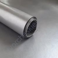 Кожзам переплетный на полиуретановой основе Металлик, плотность 280 гр/м2, 35х50 см, цвет А331-серебро
