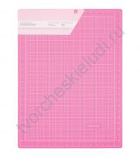 Коврик для резки самовосстанавливающийся 45х60 см, цвет розовый