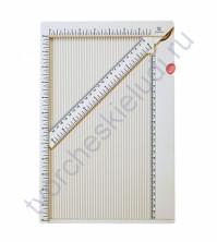 Доска для биговки (сгибов) многофункциональная, 34.4x23x0.95 см