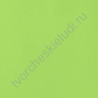 Кардсток текстурированный Лайм (Key Lime), 30.5х30.5 см, 216 гр/м2