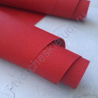 Кожзам переплетный с тиснением Питон, плотность 255 гр/м2, 70х50 см, цвет красный