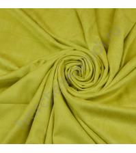 Искусственная замша двусторонняя, плотность 310 г/м2, размер 50х37 см (+/- 2см), цвет лайм