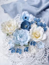 Набор тканевых цветов Лучший день