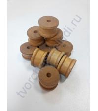 Декоративный элемент Деревянная катушка, 1 шт
