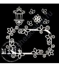 Набор чипборда Весенний, коллекция Ажур, размер 7.5х10см