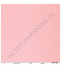 Кардсток текстурированный 30.5х30.5 см, цвет Розоватый, плотность 235 гр/м2