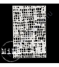Чипборд Набор Холст, коллекция Фоны, 10х15 см