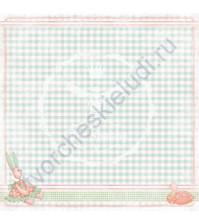 Бумага для скрапбукинга двусторонняя коллекция Малыши, 30.5х30.5 см, 190 гр/м, 740206
