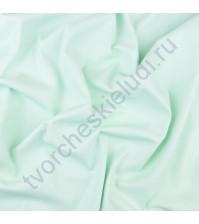 Матовая эко-кожа на замшевой основе, плотность 400 гр/м2, 35х50 см, цвет мятный фреш