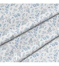 Ткань для рукоделия Пыльные ветви, 100% хлопок, плотность 150 гр/м2, размер отреза 50х40 см