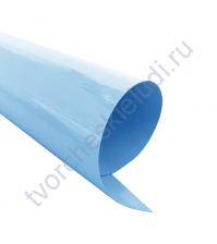 Термотрансферная пленка, цвет пастельный голубой, матовый,25х25см (+/- 2 см)