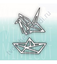 Набор ножей для вырубки Оригами-ми, 2 штуки