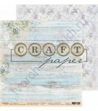 Бумага для скрапбукинга двусторонняя коллекция Первоцветы, 30.5х30.5 см, 190 гр/м, лист Букет для тебя
