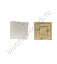 Набор шейкеров Квадрат мини, 4 элемента, толщ. 3 мм, цвет прозрачный