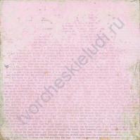 Бумага для скрапбукинга односторонняя 30х30 см Очарование, лист 2