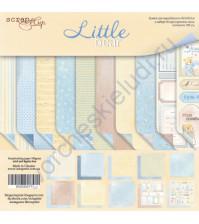 Набор двусторонней бумаги Little Bear, 30.5х30.5 см, 190 гр/м, 10 листов