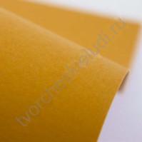 Кардсток текстурированный 30х30 см, цвет темно-желтый, плотность 250 гр/м2