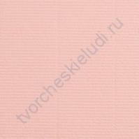 Кардсток текстурированный 30х30 см, цвет нежно-розовый, плотность 300 гр/м2