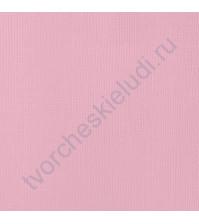 Кардсток текстурированный Румянец (Blush), 30.5х30.5 см, 216 гр/м2